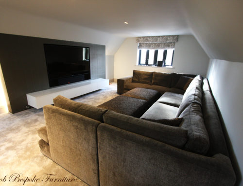 Bespoke cinema with in the comfort of your own home.
